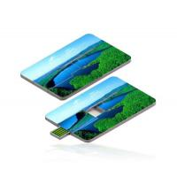Custom Printed Credit Card USB Drive High SpeedWith Full Color Manufactures