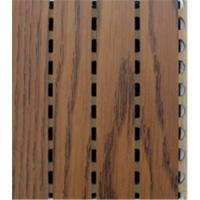 Buy cheap Wooden Grooved Acoustic Wall Panels from wholesalers