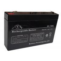 Buy cheap Sealed Rechargeable 6V Lead Acid Battery Long Service Life Free Maintenance from wholesalers