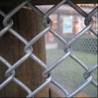 Buy cheap Rhombic Wire Mesh / Cyclone Fence (Galvanized) from wholesalers