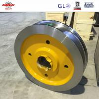 Buy cheap OEM AISI Industrial Crane Floating Gantry Mounted Pulleys For Wire Rope from wholesalers
