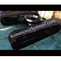 Buy cheap high quality steel track undercarriage with slew bearing for sale from wholesalers