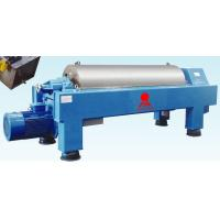 Buy cheap Inlet Capacity 5~18m 3/h Horizontal Decanter Centrifuges Used for PVC Sludge from wholesalers