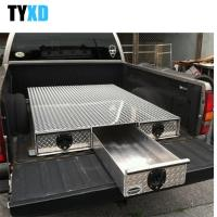Buy cheap Weather Resistant Metal Tool Storage Box , 3 Drawer Metal Truck Bed Tool Box from wholesalers