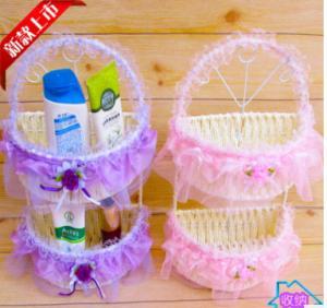 Weaved Paper rope storage basket/box