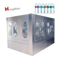 China Stainless Steel Rotary Type Plastic Bottle Filling Machine With High Efficiency on sale