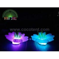 Buy cheap Inflatable lighting flower lily RGB color lights for party stage events decor from wholesalers