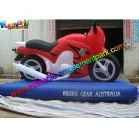 Buy cheap Customized Advertising Inflatables Motorcycle Replica , Inflatable Motorbike Model from wholesalers