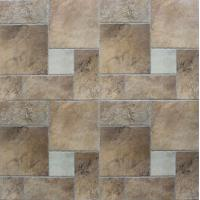 Buy cheap Ancient Ceramic Tile Flooring / Outdoor Patterned Floor Tiles Clear And Vivid Designs from wholesalers