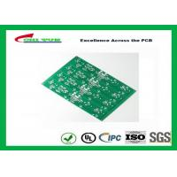 Buy cheap Fast Prototype Double Sided PCB Surface Immersion Silver One Panel with 4up from wholesalers
