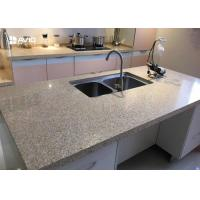 Buy cheap Professional Quartz Prefab Kitchen Countertops , Quartz Bathroom Worktops from wholesalers
