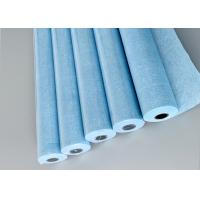 Buy cheap Polycellulose Automatic Blanket Wash Cloth , Spunlace Nonwoven Fabric Roll from wholesalers