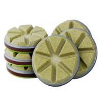 Buy cheap High Speed Diamond Floor Polishing Pads Convenient Without Left Waterlogging from wholesalers