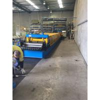 Buy cheap Heavy Duty Storage Rack Metal Roll Forming Equipment 8-15 M / Min For Warehouse from wholesalers