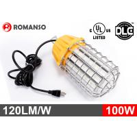 12000lm 100W LED Temporary Job Site Light 120VAC For Workshop / Construction Manufactures
