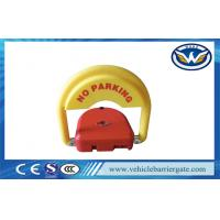 Buy cheap CE Approved car parking space protector , Remote Control Parking Barrier Lock from wholesalers