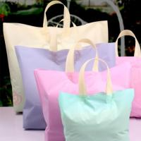 Buy cheap Colorful Custom Plastic Shopping Bags , Reusable Grocery Bags With Handles from wholesalers