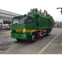 Buy cheap 4x2 6001 - 10000L Special Purpose Truck / Diesel Fuel Type Waste Collection Truck from wholesalers