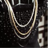 Buy cheap Fashion Jewelry metal chain necklace cloth ornaments from wholesalers