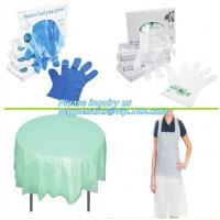 Buy cheap medical compostable disposable plastic gloves, biodegradable and compostable gloves vinyl, Disposable Polyethylene PE Gl from wholesalers