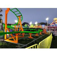 Buy cheap 12 Seats 380V Kiddie Roller Coaster With Ethnic Characteristics Decoration from wholesalers