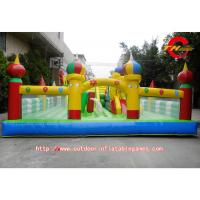 Buy cheap Childrens PVC Inflatable Bounce House With Slide For Disney Theme Park from wholesalers