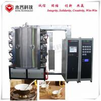 Buy cheap Ceramic Plated Titanium Nitride Coating Equipment Gold Coffee Mugs With Handle from wholesalers