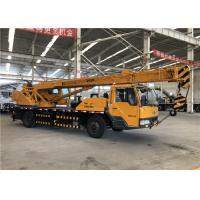 Buy cheap Main Boom Elevation Hydraulic Truck Bed Crane Max Lifting Height 28m from wholesalers