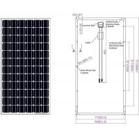 Wholesale Flat Roof  Ingle Solar Module Panel 205 Watt  MC4/MC4 Compatiility Connector from china suppliers