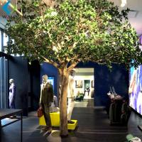 Buy cheap 4m Height Artificial Fruit Tree , Fake Apple Tree For Clothing Store Mall Decor from wholesalers