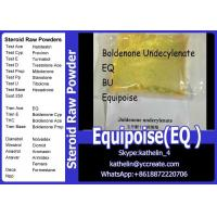 Buy cheap Bodybuilding Equipoise Boldenone Undecylenate EQ / BU Steroid Yellow Liquid from wholesalers