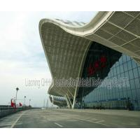 Buy cheap UV Resistant Prefabricated Steel Structures Large Span Prefab Bus / Train Station from wholesalers