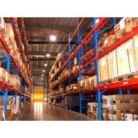 Buy cheap Reliable Warehouse Racking Systems With High grade SS400 Cold Rolled Steel from wholesalers