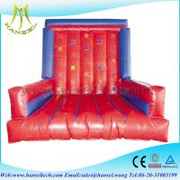 Buy cheap Hansel Inflatable stick wall for sale, inflatable velcro wall from wholesalers