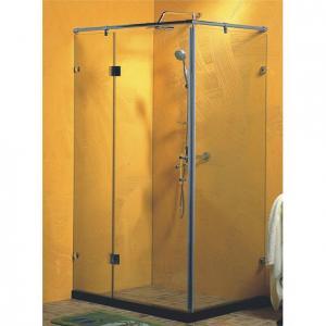 toughen glass framed shower enclosure , corner shower cubicles 90 x 90 X 200 / cm