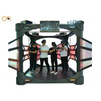 Wholesale Small Space 4 Players Virtual Reality Simulator With Interactive Shooting Game Machine from china suppliers