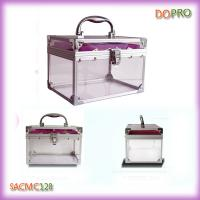 Buy cheap Small Plastic Cosmetic Cases Clear Jewellery Plastic Boxes (SACMC128) from wholesalers