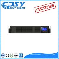 Wholesale High Frequency Online Home Rack Mount Ups , Uninterruptible Power Supply Rack Mountable from china suppliers