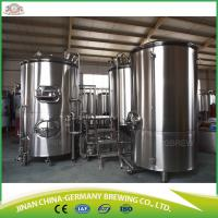 500L commercial beer brewing systems for sale with CKT tanks Manufactures