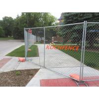 Buy cheap 60x60mm Temp Chain Link Fence , Hot Dipped Galvanized Temporary Fence Bracing from wholesalers