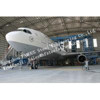 Buy cheap Hot Galvanized Steel Shed Aircraft Hangar Buildings For Airplanes / Air Terminals from wholesalers
