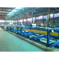 0.3 - 0.7mm Structural Steel Roof Panel Roll Forming Machine For Building Wall