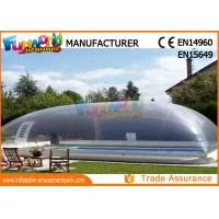 PVC Transparent Inflatable Pool Cover Tent Swimming Pool Cover Shelter