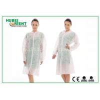 Buy cheap Dental Medical Tyvek Disposable Lab Coats / Plus Size Lab Coats Breathable For Body from wholesalers