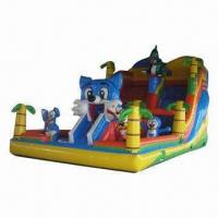 Buy cheap Outdoor Inflatable Play Structure, Customized Designs Accepted, Available in Various Colors from wholesalers
