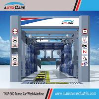 Buy cheap Fully Automatic Tunnel Car Washing Machine for sales to Nigeria/ Automated Car Washer with Platform Belt Conveyor from wholesalers