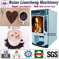 Wholesale instant coffee and tea vending machine Bimetallic raw material 3/1 microcomputer Automatic Drip coin operated instant from china suppliers