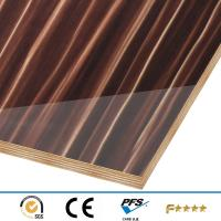 Buy cheap High gloss plywood for kitchen cabinet door, wardrobe door, office furniture board from wholesalers