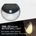 Buy cheap Solar Motion Sensor Light for outdoor lighting, Solar wall light, solar garden light with sensor from wholesalers