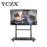 Buy cheap Black Frame LED IR Interactive Whiteboard Display With Digital Pen from wholesalers